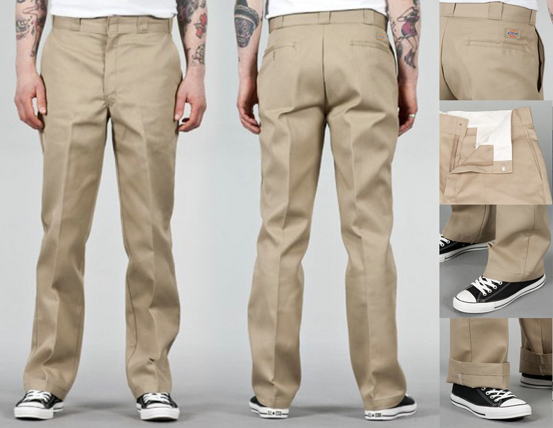 dickies o dog hose slim straight workpant 873 khaki. Black Bedroom Furniture Sets. Home Design Ideas