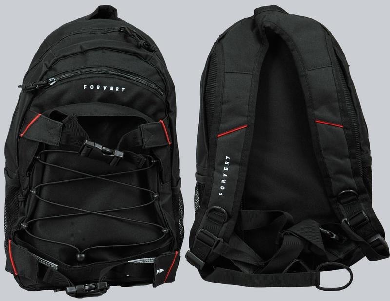 f1598bb333314 Forvert Rucksack Backpack Kinderrucksack Small Louis Black schwarz ...