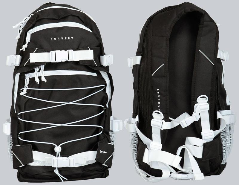 forvert rucksack backpack ice louis schwarz o blau rot. Black Bedroom Furniture Sets. Home Design Ideas