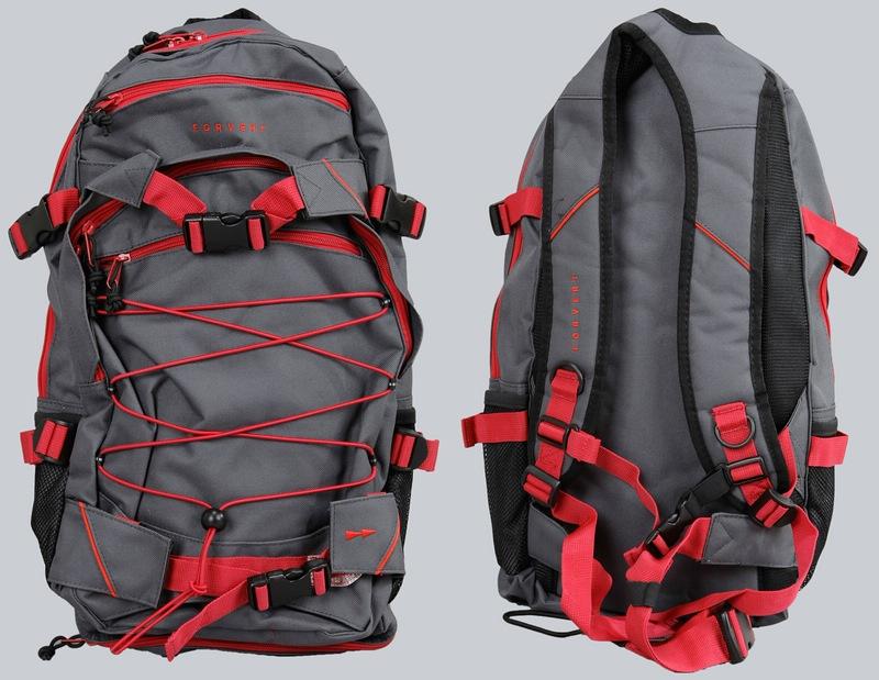 forvert rucksack/backpack ice louis,schwarz-o,blau-rot,grau,oliv, Hause ideen