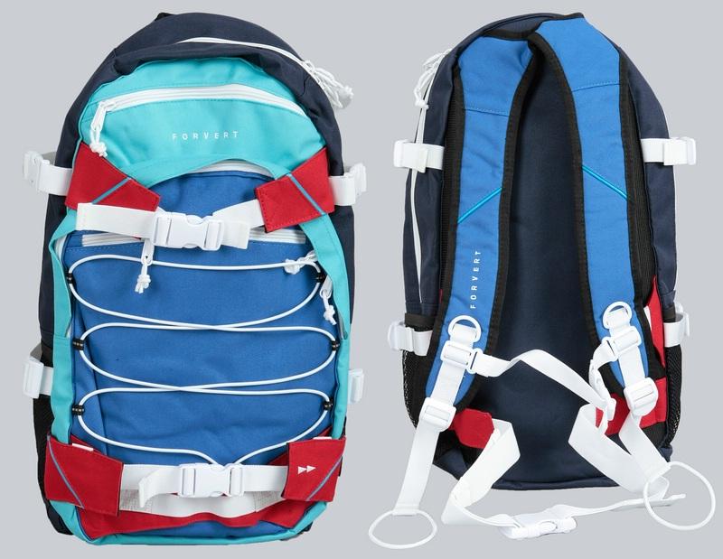 forvert rucksack backpack ice louis farben navy red. Black Bedroom Furniture Sets. Home Design Ideas